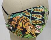 Rawr! Jungle flora and fauna mask