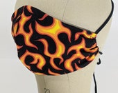 The flames are getting higher mask!