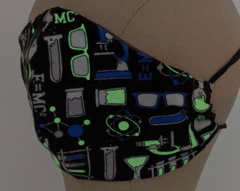 She Blinded Me with Glow in the Dark Science mask