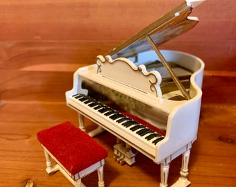 GRAND Piano Vintage DOLLHOUSE 1960s IDEAL Petite Princess ~Free Shipping~