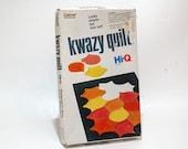 Kwazy Quilt Puzzle game from Gabriel VINTAGE COMPLETE (Read Description)