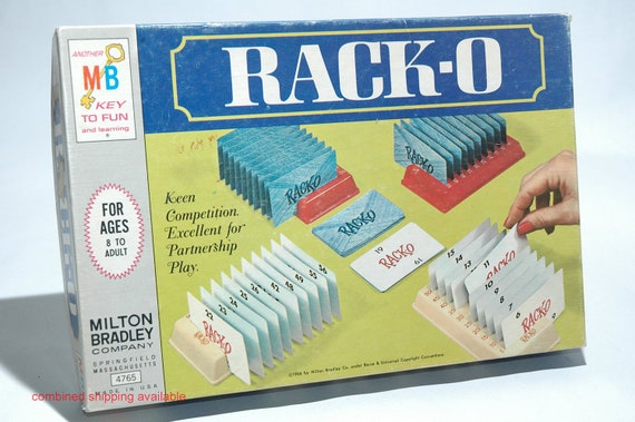 Racko Card Game From Milton Bradley 1966 Complete Read Etsy