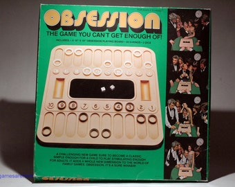 Obsession Game from Mego 1977 (read description)