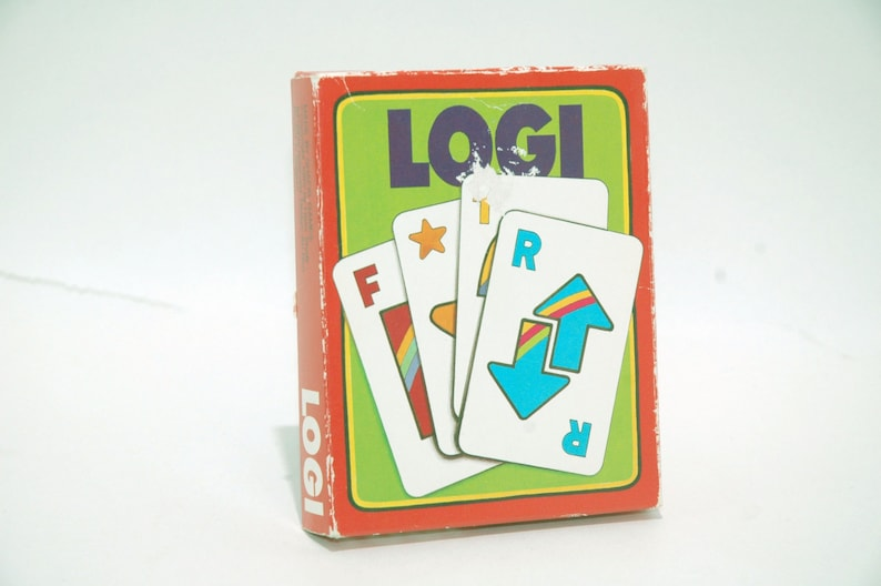 Logi Card Game From Shafir Games 1985 Complete