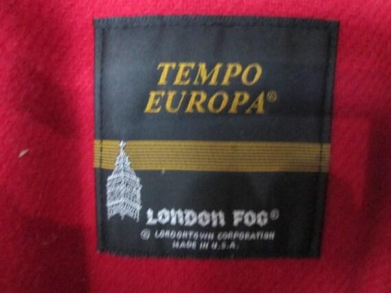 Vintage London Fog Coat/Woman's London Fog/Tan Tr… - image 7