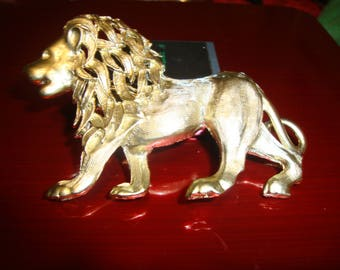 Large Lion Pin/Brooch