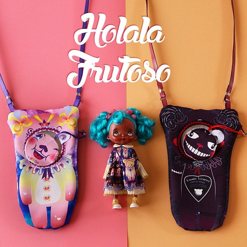 Holala doll Cosmic Licorice Frutoso bag holala bag holala carrier