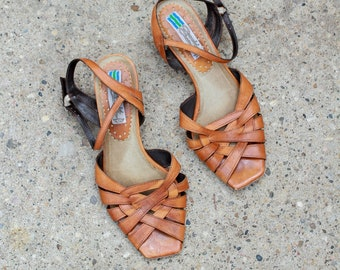 52972fb80ccc5 80s sandals | Etsy