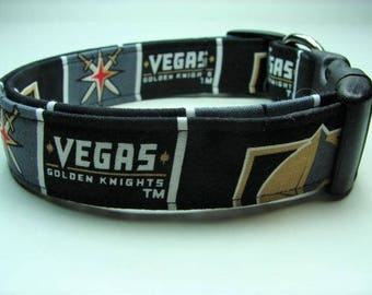 Vegas Golden Knights Hockey Dog Collar a334e346c1