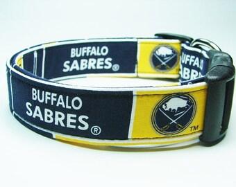 Buffalo Sabres Dog Collar