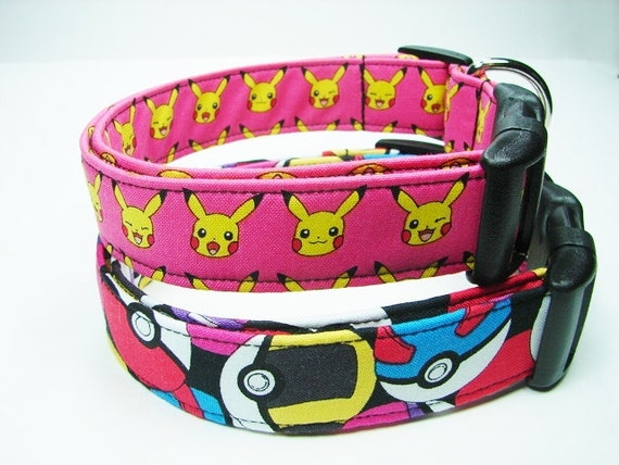 collier pour chien pokemon