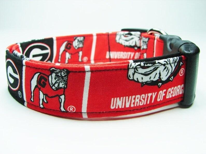 2dd64ebf8a4 University of Georgia Bulldogs Dog Collar