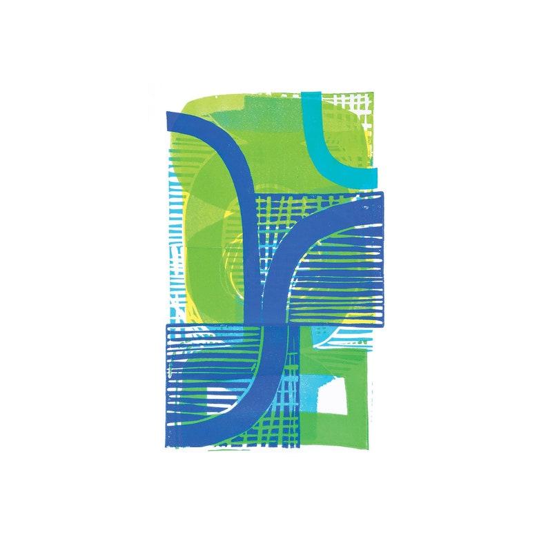 Lines & Curves A3 Digital Print image 1