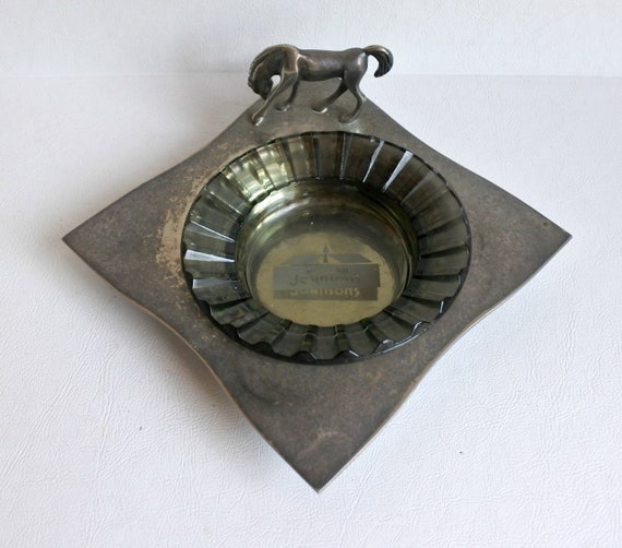 Vintage Silver Plate Gucci Italy Horse Ashtray With Vintage Etsy