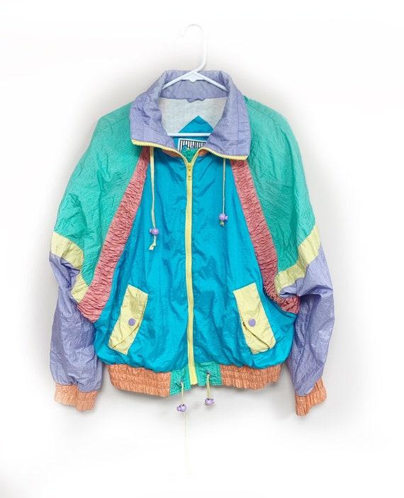 Vintage 1980s 1990s Wind Jacket