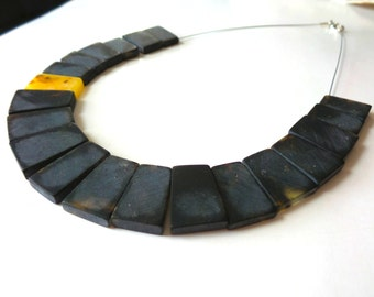 Baltic Amber Necklace , Modern Necklace, Dark Amber necklace .