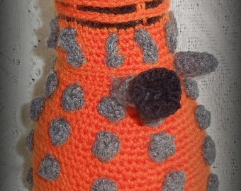 Inspired by Doctor Who Crochet Dalek - made to order