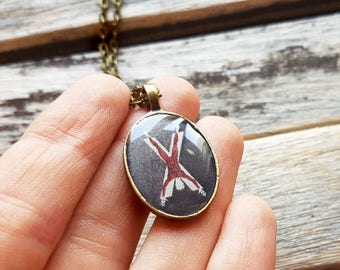 House Bolton of the Dreadfort Crest - Game of Thrones Jewelry - House Bolton Pendant - House Bolton Necklace - House Bolton Jewelry - Ramsey
