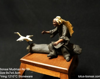Bonsai Mudman Figurine No 69,  sculpture 10/2016