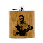 Johnny Cash flask, San Quentin State Prison, Finger