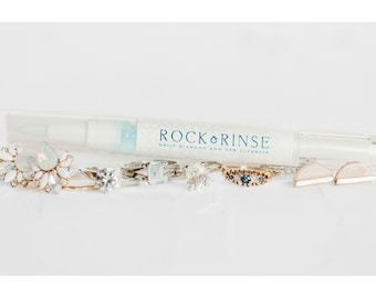 Rock & Rinse - Ring Cleaning Pen - The All-in-one 30 Second Daily Solution for Dull Diamonds and Precious Stones - Discounts
