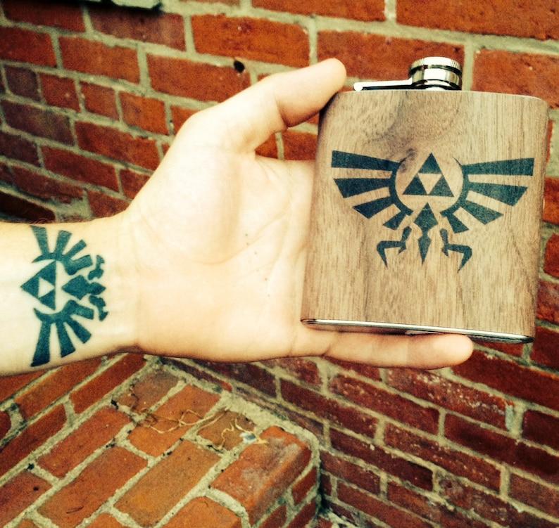Legend of Zelda flask image 0