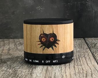 Zelda bluetooth speaker, Zelda gift, Nintendo bluetooth speaker, majoras mask