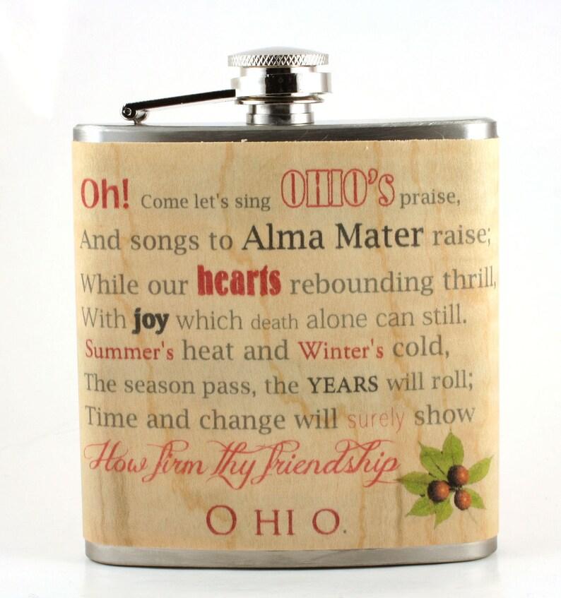 Ohio State/ Carmen Ohio flask image 0