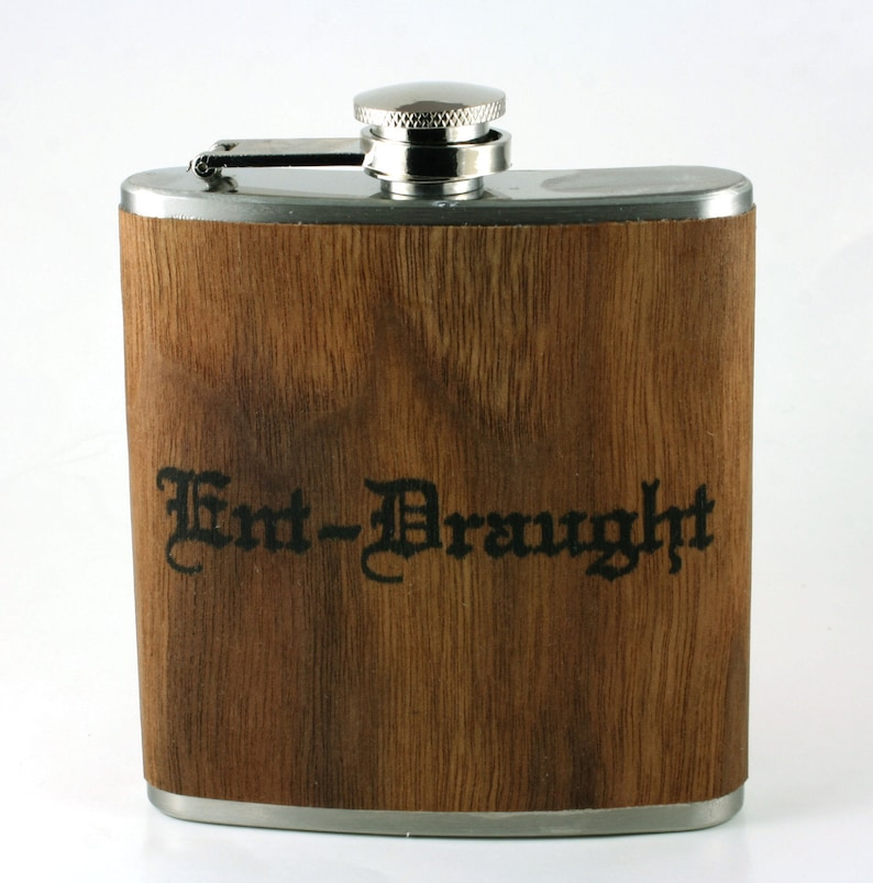 Lord of the Rings wooden flask. Ent-Draught image 0