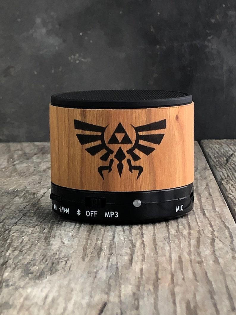 Zelda bluetooth speaker Zelda Triforce Zelda gift Nintendo image 0
