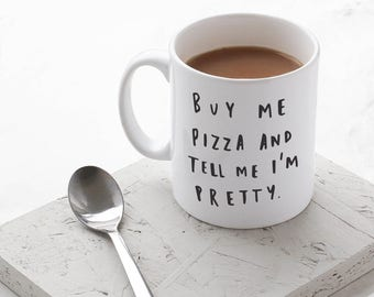 Pizza Mug Etsy