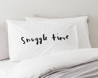 Snuggle time pillow | Etsy
