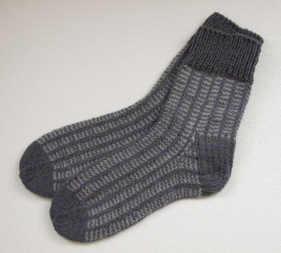 Size 42-43 EU Hand knitted socks