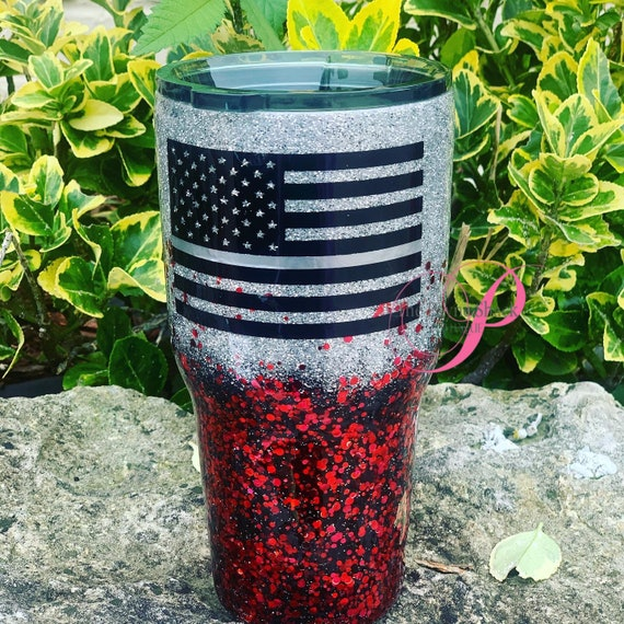 Correction Officer Glitter Tumbler, Glitter Tumbler Personalized, Tumbler