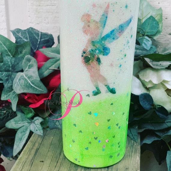 Fairy Glitter Tumbler, Glitter Tumbler Personalized, Tumbler