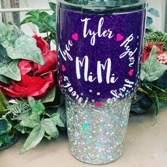 MiMi Glitter Tumbler, Tumbler