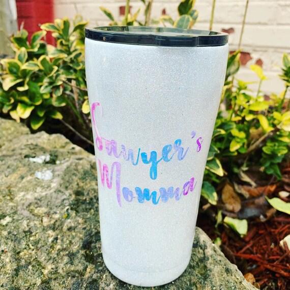 Color Changing Glitter Tumbler, Glitter Tumbler Personalized, Tumbler