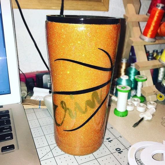 Basketball Tumbler, Personalized Kids Cup, Tumbler