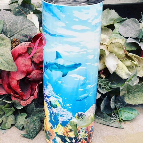 Ocean Sublimated Tumbler
