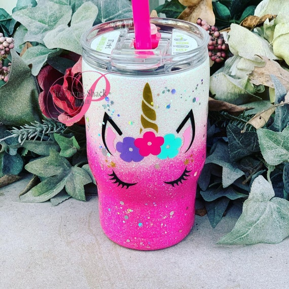 Unicorn Tumbler, Personalized Kids Cup, Tumbler