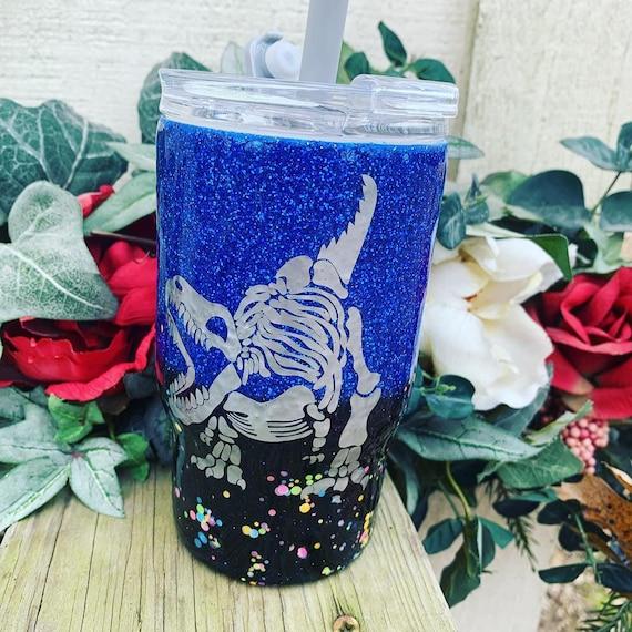 Dinosaur Tumbler, Personalized Kids Cup, Tumbler