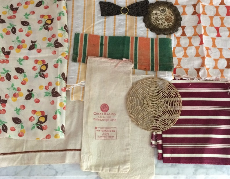 Lot of 19 Cutter/'s Cloth /& Trims