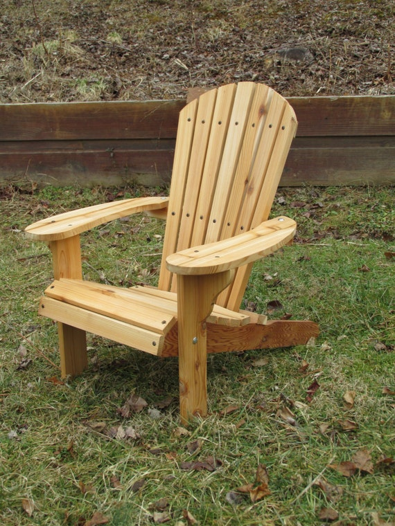 Pleasing Kids Western Red Cedar Adirondack Chair Natural Finish Andrewgaddart Wooden Chair Designs For Living Room Andrewgaddartcom
