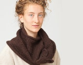 Foxy Scarf in Woodland Style knitted by Nina Fuehrer