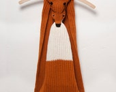 Red Fox Scarf - Woodland Style