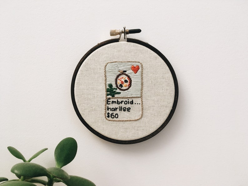 Embroidery hoop  Etsy embroidery listing hand embroidered image 0