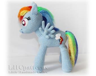78f39edadbfeb Rainbow Dash Inspired Pattern