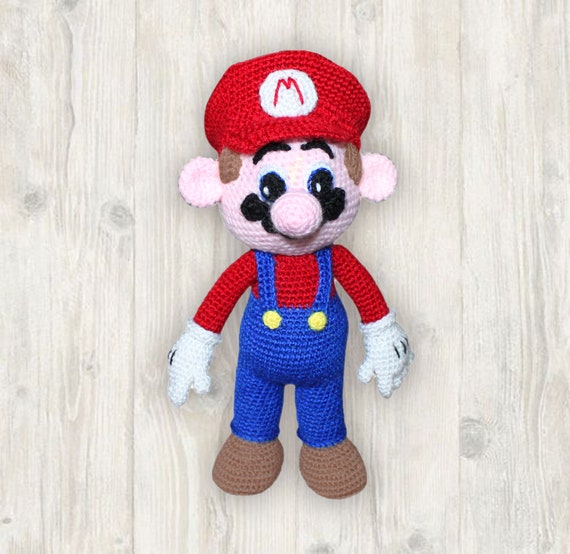Crochet Pattern of Mario from