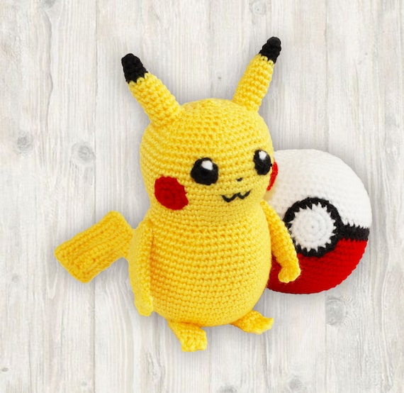 Pokemon Inspired Crochet Patterns Book One Unofficial: Written ... | 554x570