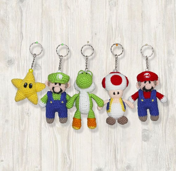 Super Mario Bros – Free Crochet Pattern Round Up – Goddess Crochet | 554x570